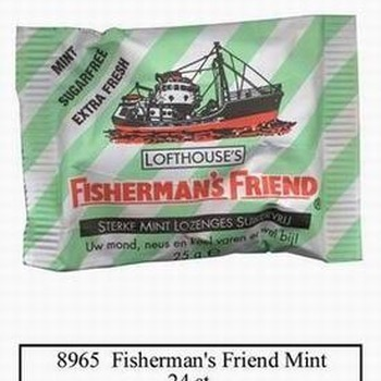 24 FISHERMANN GROEN MUNT SV