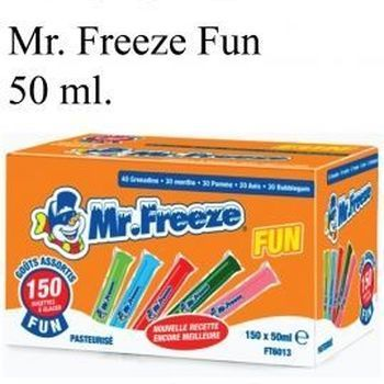 150 MR FREEZER FUN