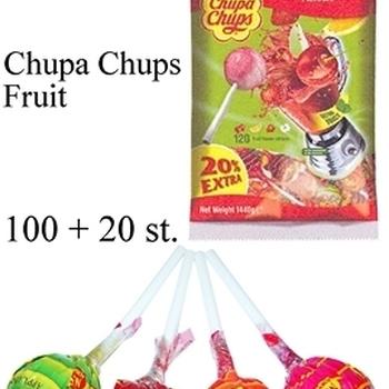 100 + 20 CHUPA CHUPS ZAK FRUIT