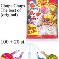 100 + 20 ZAK CHUPA CHUPS BEST OF
