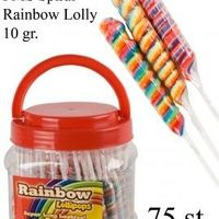 75 SPIRAL RAINBLOW LOLLYPOP