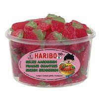 150 HARIBO TUBO AARDBEI
