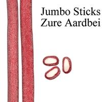 30 JUMBO STICK ZURE AARDBEI