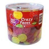100 redband crazy faces