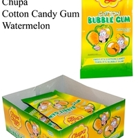 12 CHUPA COTTON CANDY GUM WATERMELOEN