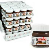 64 NUTELLA MINI GLAS