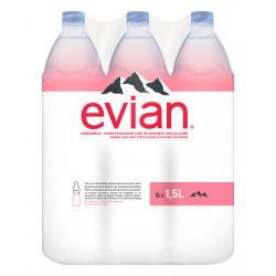 6 EVIAN 1.5L
