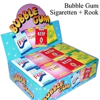 24 CHEWING GUM CIGARETTEN