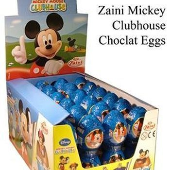 48 X 20GR CHOCOLADE EI MICKEY