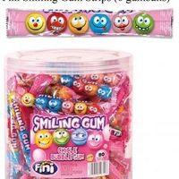 80 FINI SMILEY GUM STRIEP 6P